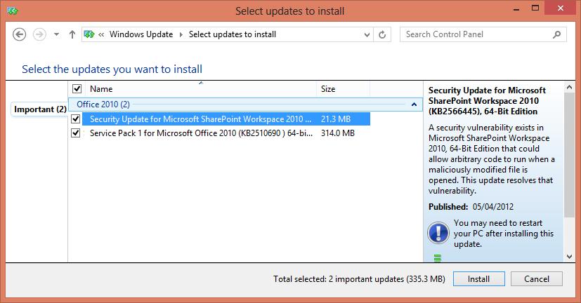 Windows Update Error 8024002D | my world of IT