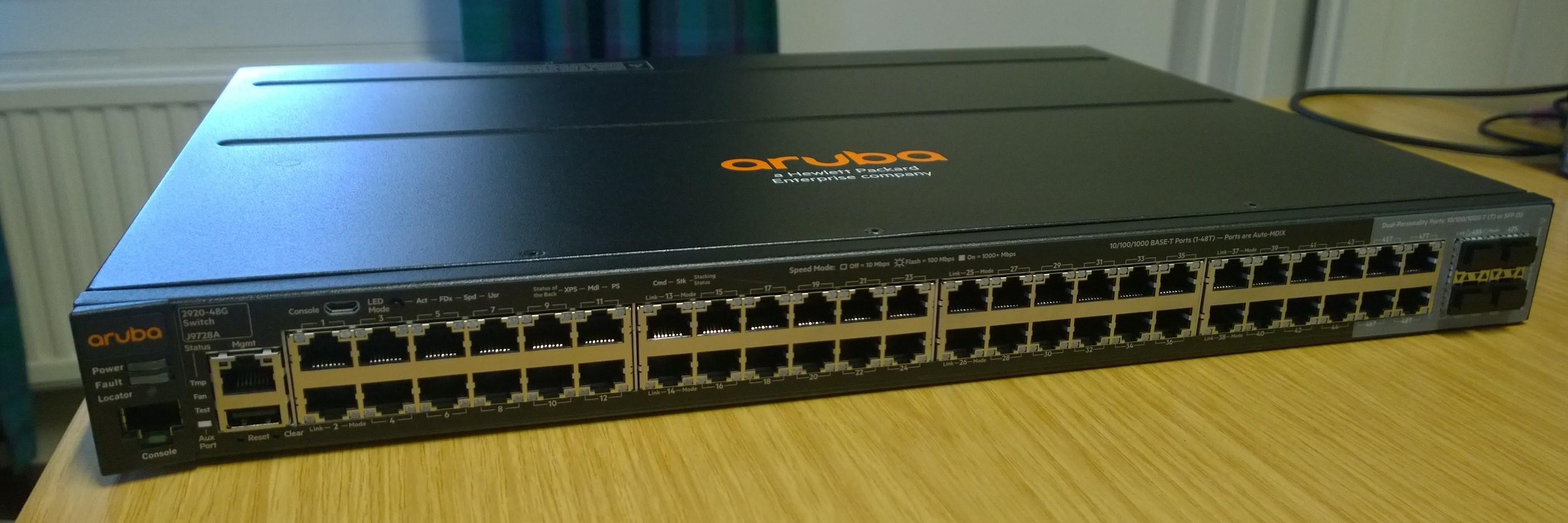 hp 2530-48g switch j9775a firmware update