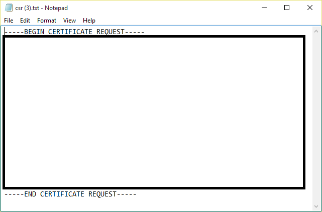 Requesting a CSR from Dell iDRAC gives you a blank file | my