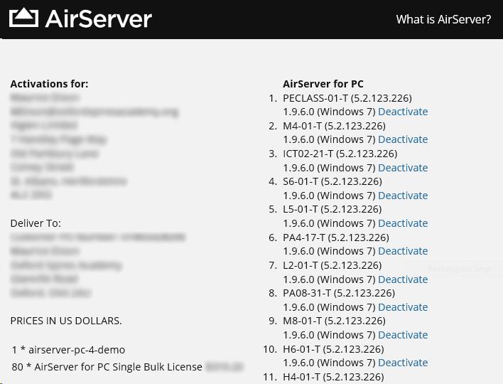 ecniqui • Blog Archive • Airserver activation code windows xp