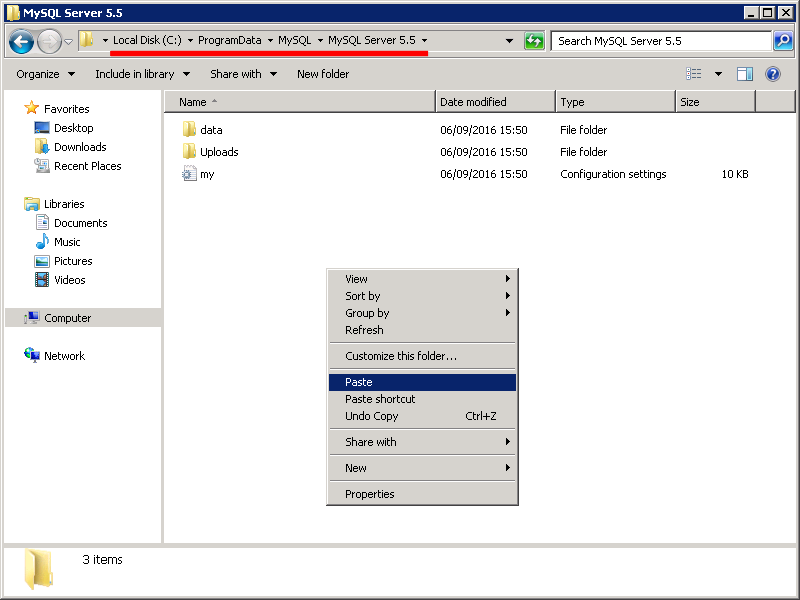 Tutorial: install mysql 5. 6 windows.