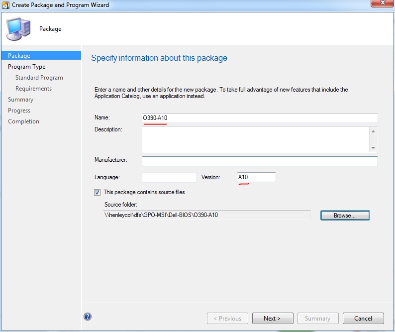 Update Dell BIOS using SCCM 2012 Task Sequence | my world of IT