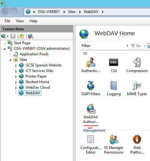 Series: WebDAV – Access Windows File Shares outside the firewall on
