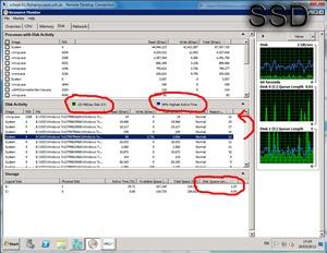 The SSD building 20 desktops