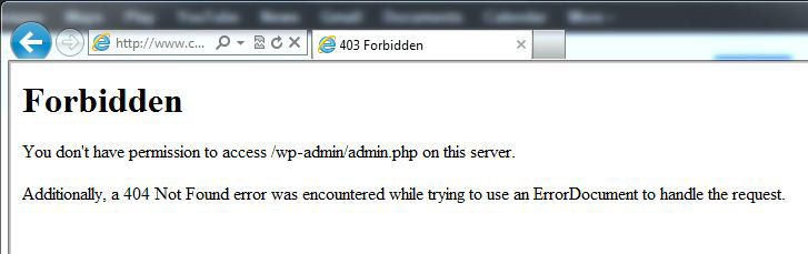 Access Denied You DonT Have Permission To Access On This Server