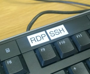 RDP or SSH