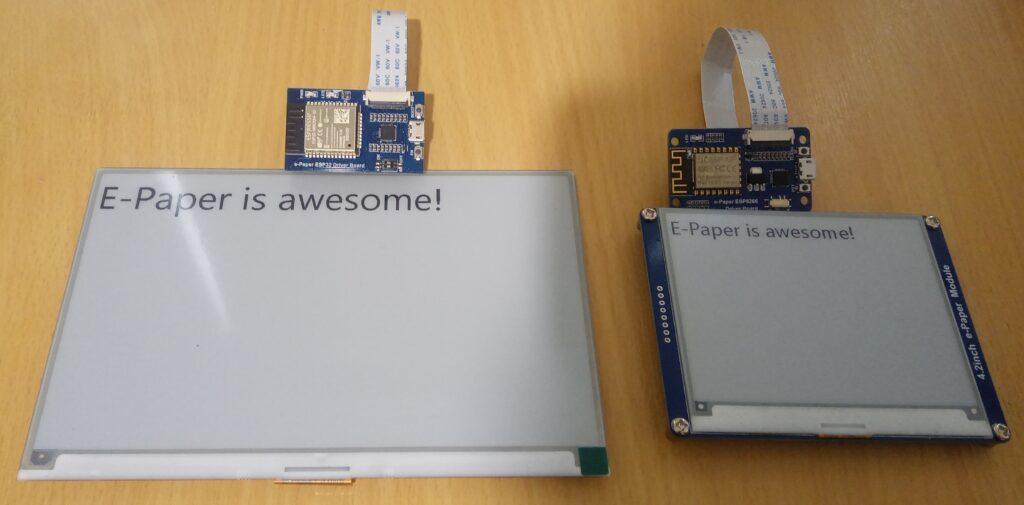 E-Paper displays